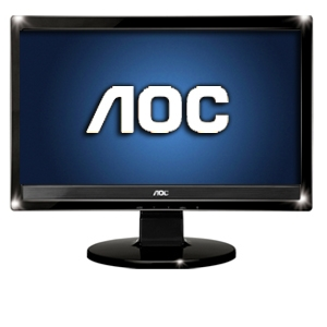 AOC 1619Sw 16&quot; Class Widescreen LCD HD Monitor