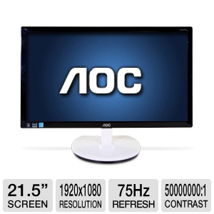 "AOC e2243Fw 21.5"" Widescreen LED Monitor"