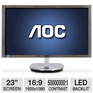 "AOC i2353Ph 23"" Class Widescreen HDMI LED Monitor"