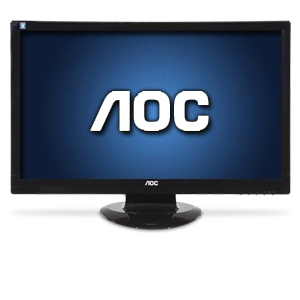 "AOC 2770Vh1 27"" Widescreen HD LCD Monitor-1080p, 1920x1080, 16:9, 60000:1 Native, 60Hz, 2ms, VGA, DVI, HDMI, Built-in Speakers"