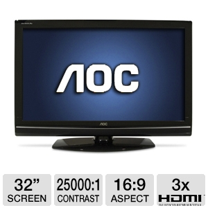 AOC LC32W063 32&quot; Class LCD HDTV 