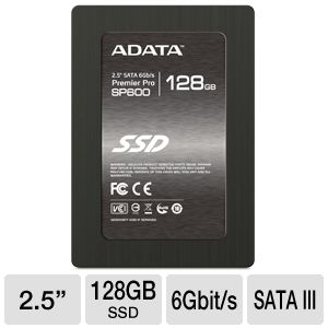 ADATA Premier Pro SP600 128GB Solid State Drive