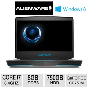 Alienware 14 ALW14-1870SLV Gaming Laptop