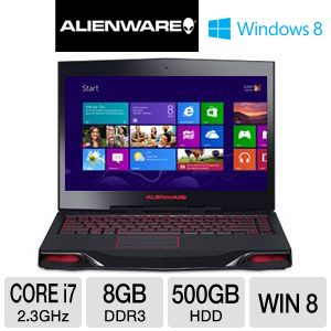 "Alienware M14x 14"" Core i7 500GB HDD Notebook"