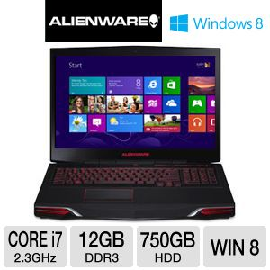 Alienware M17x 17.3&quot; Core i7 750GB HDD Notebook