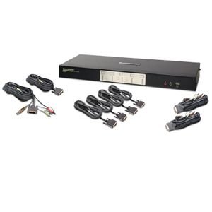 Iogear GCS1644 4-Port DVI KVM Switch