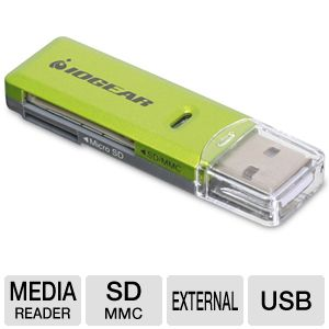 Iogear GFR204SD Card Reader / Writer
