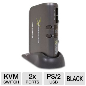 2-Port Extreme Multimedia KVMP Switch