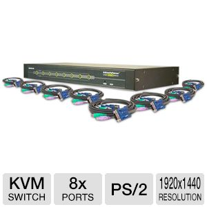 Iogear 8-Port KVM