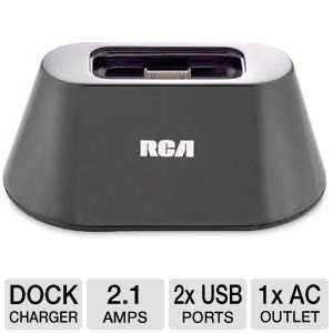 RCA Charging Dock With Cradle For iPhone/iPod