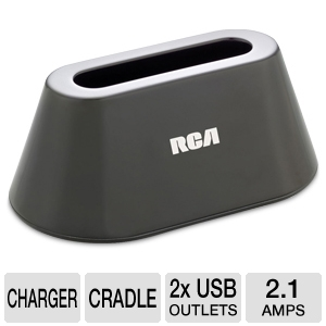 RCA Cell Phone &amp; Tablet USB Charging Dock