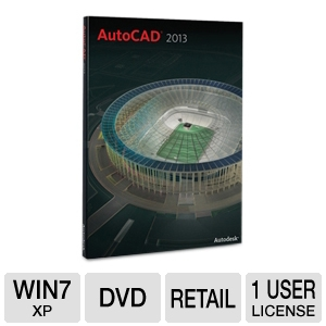 Autodesk AutoCAD 2013 Software