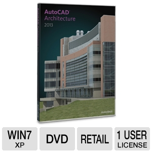 Autodesk AutoCAD Architecture 2013 Software