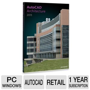 AutoCAD Architecture Commercial 1Yr. Subscription