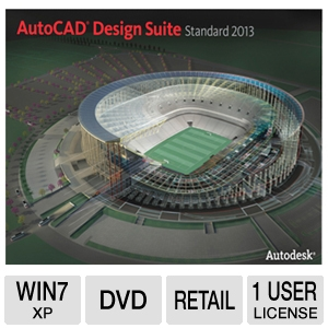 Autodesk AutoCAD Design Suite Standard 2013 