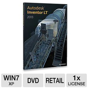 Autodesk Inventor LT 2013 Software 