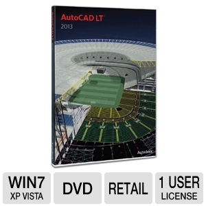 Autodesk AutoCAD LT 2013 Software
