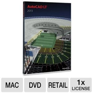 Autodesk AutoCAD LT 2013 Software for Mac