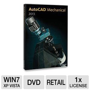 Autodesk AutoCAD Mechanical 2013 Software