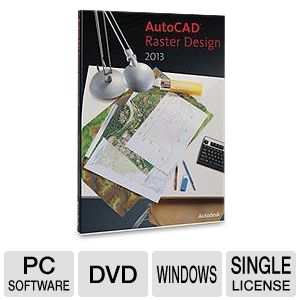 Autodesk AutoCAD Raste Design 2013 Software