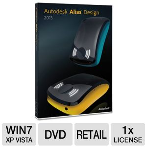 Autodesk Alias Design 2013 Software 