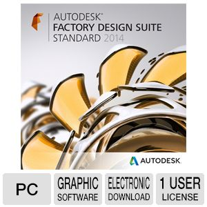 Autodesk Factory Design Suite Standard '14