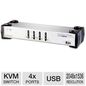 Aten 4-Port KVM Switch