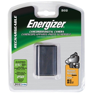 Energizer ERD120GRN Lithium-Ion Rechargeable Digit