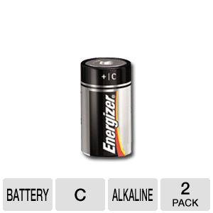Energizer E93BP2 C Alkaline Battery