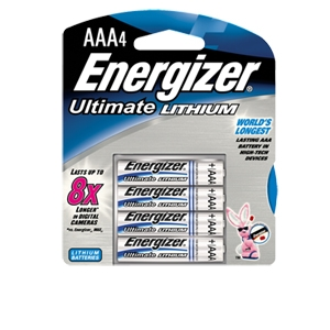 Energizer e2 L92BP4 AAA Lithium Battery