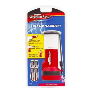 Energizer WRTWL41E Weather Ready 3 in 1 LED Light