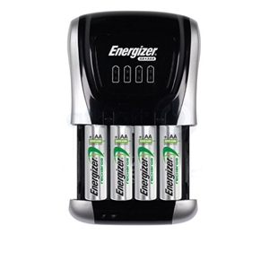 Energizer Recharge Compact Charger w/ AA Batteries