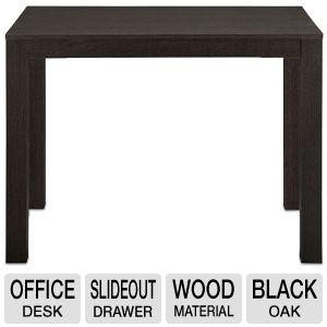 Ameriwood Parson's Black Oak Finish Office Desk