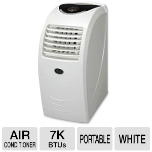 ArcticPro 7,000 BTU White Portable Air Conditioner