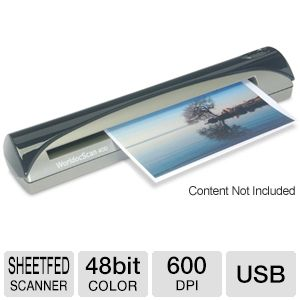 Penpower WorldocScan 400 Sheetfed Scanner