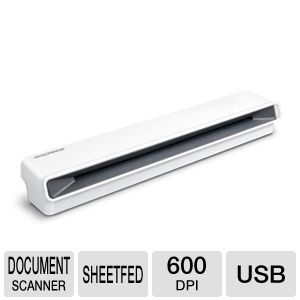 Penpower 410 WorldocScan Compact Document Scanner