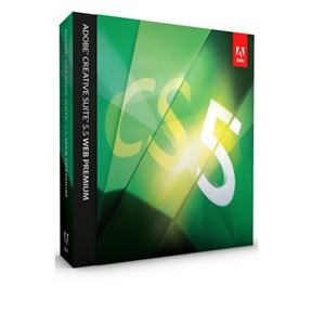 Adobe Creative Suite 5.5 Web Premium Software