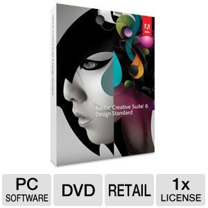Adobe CS6 Design Standard Software