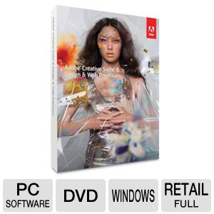 Adobe CS6 Design & Web Premium Software