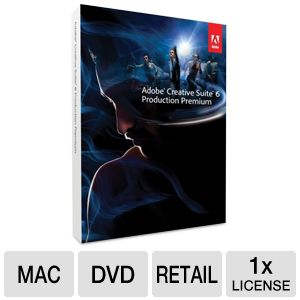 Adobe CS6 Production Premium Software