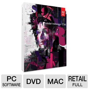 Adobe InDesign CS6 Software for Mac