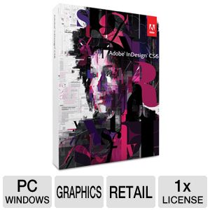 Adobe InDesign CS6 Software for Windows