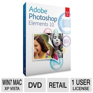 Adobe Photoshop Elements 10 Software