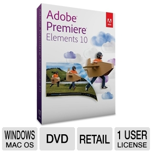 Adobe Premiere Elements 10 Software