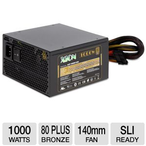 XION 1000 Watt 80+ Bronze Modular Power Supply