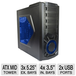 Xion XON-570P Meshed ATX Mid Tower Case
