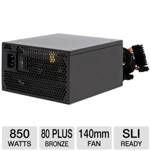 XION 850 Watt 80+ Bronze Modular Power Supply