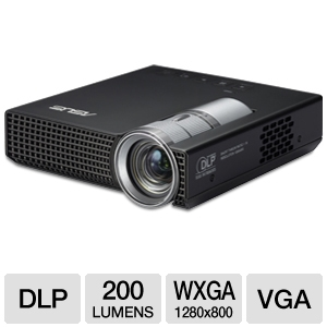 Asus P1 WXGA Widescreen LED Mobile Projector