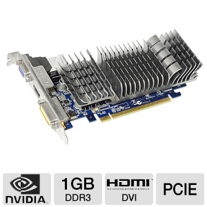 ASUS GeForce 210 1GB DDR3 Low Profile Silent