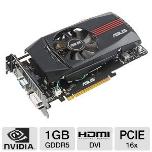 ASUS GeForce GTX 550 Ti 1GB GDDR5 Video Card